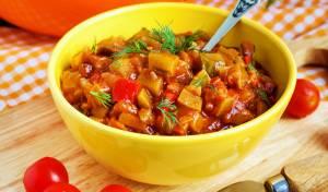 תבשיל ירקות פיקנטי