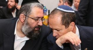 אלי קליין וראש העיר ירושלים ניר ברקת