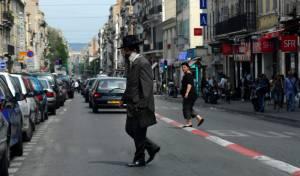 יהודי בחוצות מרסיי. אילוסטרציה