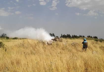 """בלבנון: טנקים של צה""""ל מול חמושים בRPG"""