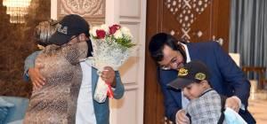 משפחה מתימן ולונדון התאחדה באבו דאבי