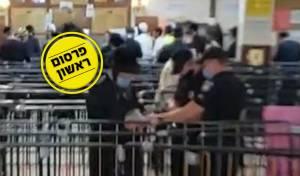 השוטרים בתוך הציון