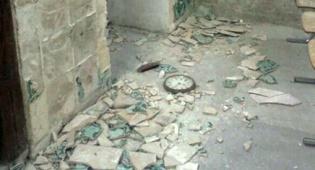 ההרס בקבר דוד