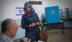 אילוסטרציה, קלפי עם מצביעים ערבים