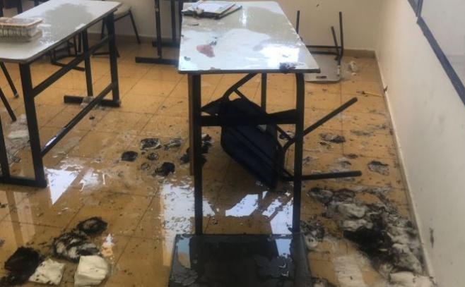 שריפה פרצה בבית ספר בביתר עילית • צפו