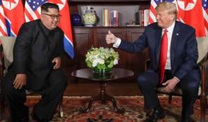 טראמפ וקים, בפגישה
