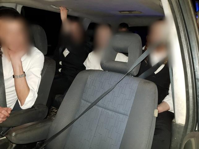 הנוסעים ברכב