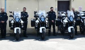 צפו: האופנועים החדשים של שוטרי התנועה