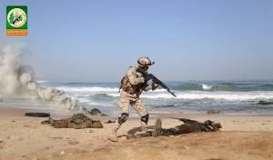 תיעוד מהתמרון הצבאי של חמאס