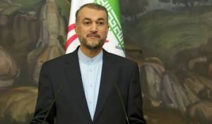שר החוץ האיראני חוסיין אמירבדולאהיאן