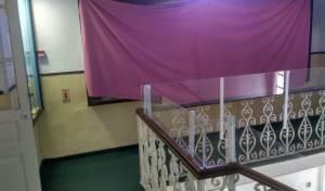 הווילון - על המיצג הכפרני - תערוכה כפרנית צונזרה: 'לא לפגוע בחרדים'