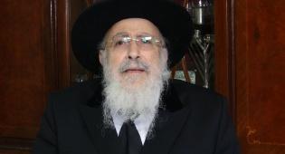 הגאון רבי שמעון אליטוב עם וורט לכבוד החג