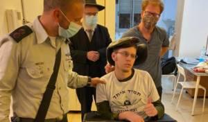 מרגש: נפצע אנוש בפיגוע וחגג מסיבת חנוכה
