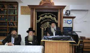 ראש ישיבת ארחות תורה רבי שרגא שטינמן
