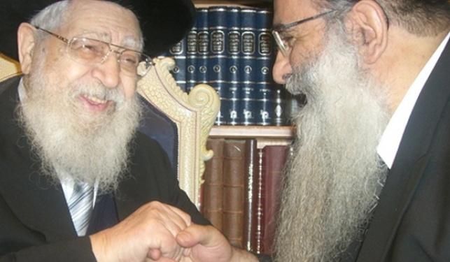 """הרב רפאל כהן ומרן הרב עובדיה יוסף זצ""""ל"""