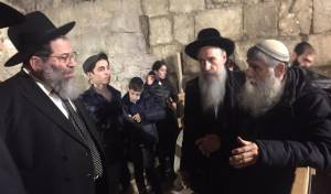 הגאון רבי יעקב בנדר בביקור בישראל • צפו