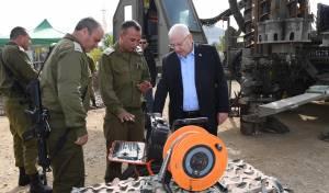 הנשיא רובי ריבלין: עזה עומדת בפני קריסה