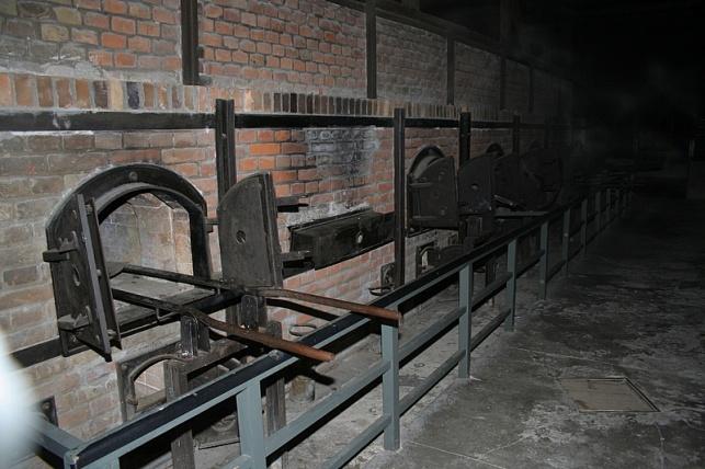 תנורי המשרפות במחנה ההשמדה אושוויץ