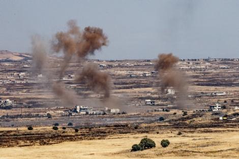 רמת הגולן הסורית - הזירה הצפונית: איראן הקימה בסיס בסוריה