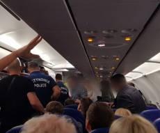 חרדי עישן בטיסה מקייב לקפריסין ונעצר