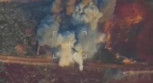 """תיעוד מכטב""""ם: רוסיה מחסלת מורדים בסוריה"""