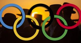 חרדים על רקע סמל האולימפיאדה
