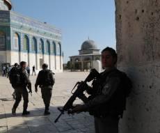 כוחות הביטחון בהר הבית, לאחר פיגוע הירי הקודם - ערבים ישראלים תכננו פיגוע ירי בהר הבית