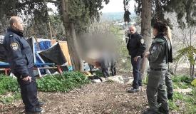 """קבר רשב""""י: המשטרה פעלה נגד הקבצנים"""