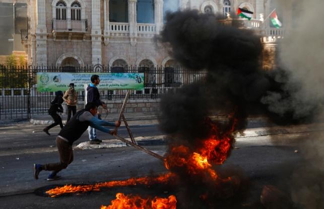 התפרעויות הפלסטינים, היום
