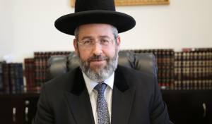 הרב הראשי בוורט לכבוד חג שביעי של פסח