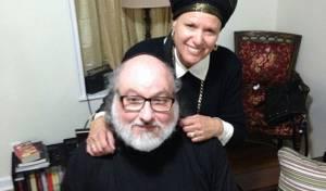 פולארד ורעייתו לאחר השחרור