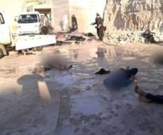 """הגופות המוטלות ברחובות - פשעי דאע""""ש: טבח נקמה בכ-130 אזרחים"""