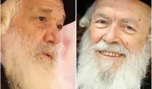 הרב זילברשטיין והרב דויטש