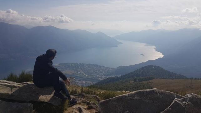 טיול דרך המצלמה ללוקראנו שבדרום שוויץ