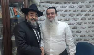 """הרב יגאל כהן עם יו""""ר ש""""ס בבני ברק"""