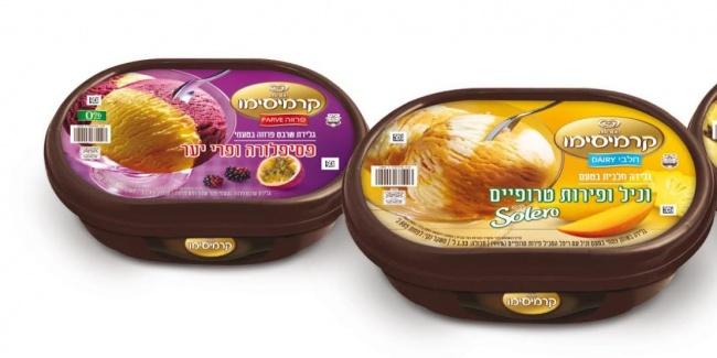 גלידות קרמיסימו בטעמים חדשים.