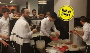 בחורי ישיבות בליל שישי האחרון במלונית הקורונה דן פנורמה בירושלים