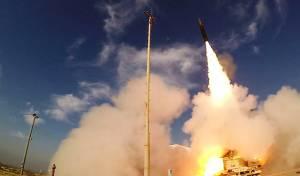 """צפו: ה""""חץ 3"""" מיירט טיל מחוץ לאטמוספירה"""