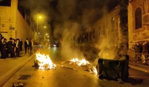 המהומות בירושלים, הלילה