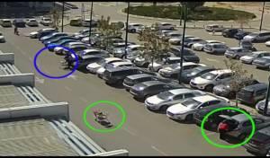צפו, אולי תזהו - העגלה הידרדרה - תיק האישה נגנב. צפו