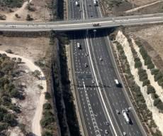 כביש שש - הערב: יואר קטע כביש חשוך בכביש 6