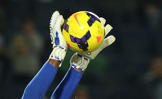משחק כדורגל. אילוסטרציה