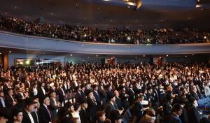 """שיקגו: אלפי יהודים חגגו את סיום הש""""ס • צפו"""