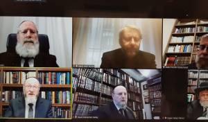 הרבנים בעצרת בזום