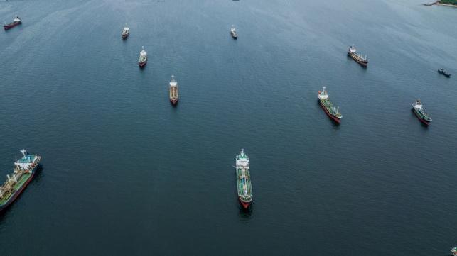מכליות נפט, אילוסטרציה
