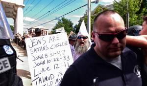 תהלוכה אנטישמית של ארגון ה-KKK
