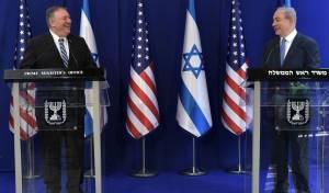 מזכיר המדינה האמריקאי בביקורו בישראל בשבוע שעבר
