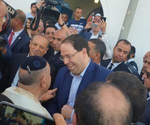 """ל""""ג בעומר בג'רבה: ראש הממשלה המקומי הצטרף לחוגגים"""