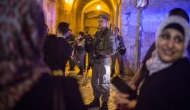פיגוע דקירה בירושלים: שני שוטרים נפצעו