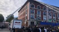 צפו: שריפה פרצה ב770; מאות פונו מהבניין